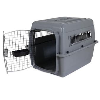 Petmate Sky Kennel Pet Crate Medium Door Open
