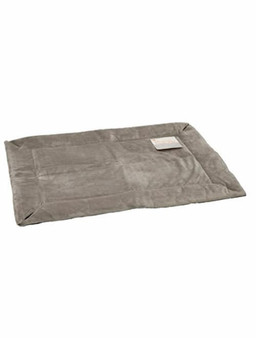 Self Warming Pet Crate Pads Gray