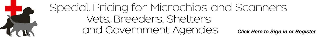 Pet Microchip Scanner Vet Breeder Special Pricing