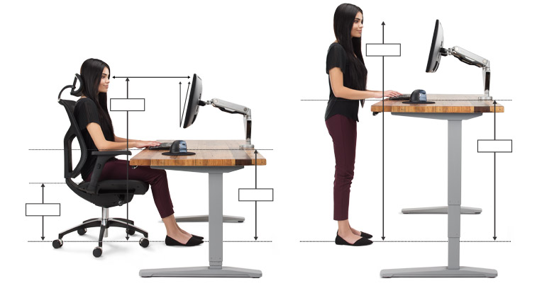 Awesome Ergonomic Office Desk Chair And Keyboard Height Calculator Download Free Architecture Designs Grimeyleaguecom