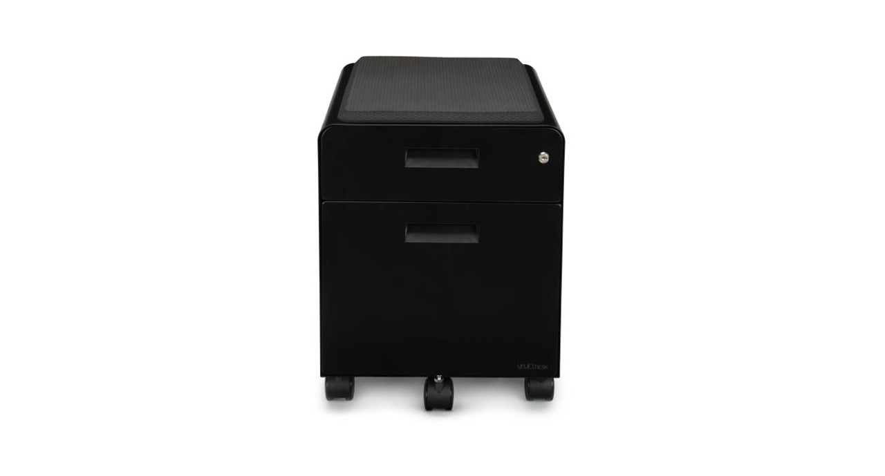 2 Drawer File Cabinet With Seat By Uplift Desk Human Solution