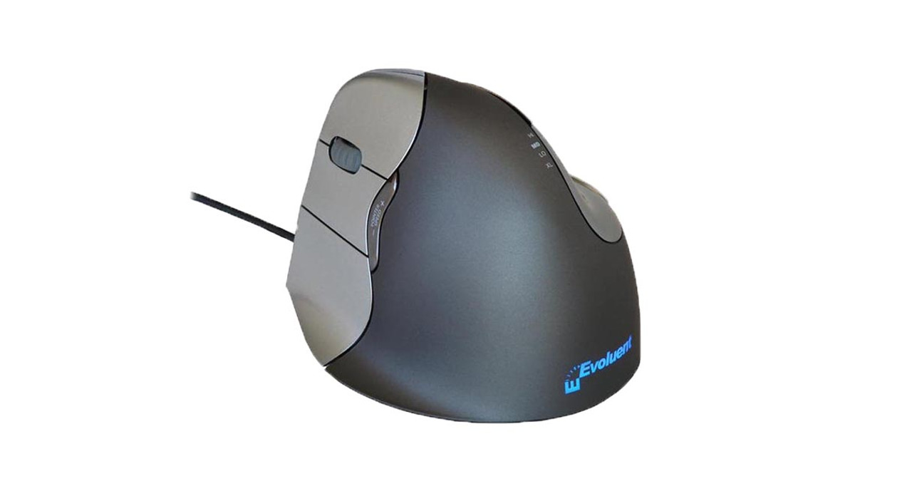 aecce59a473 Six programmable buttons give users more versatility on the Evoluent  Vertical Mouse 4: Left Hand