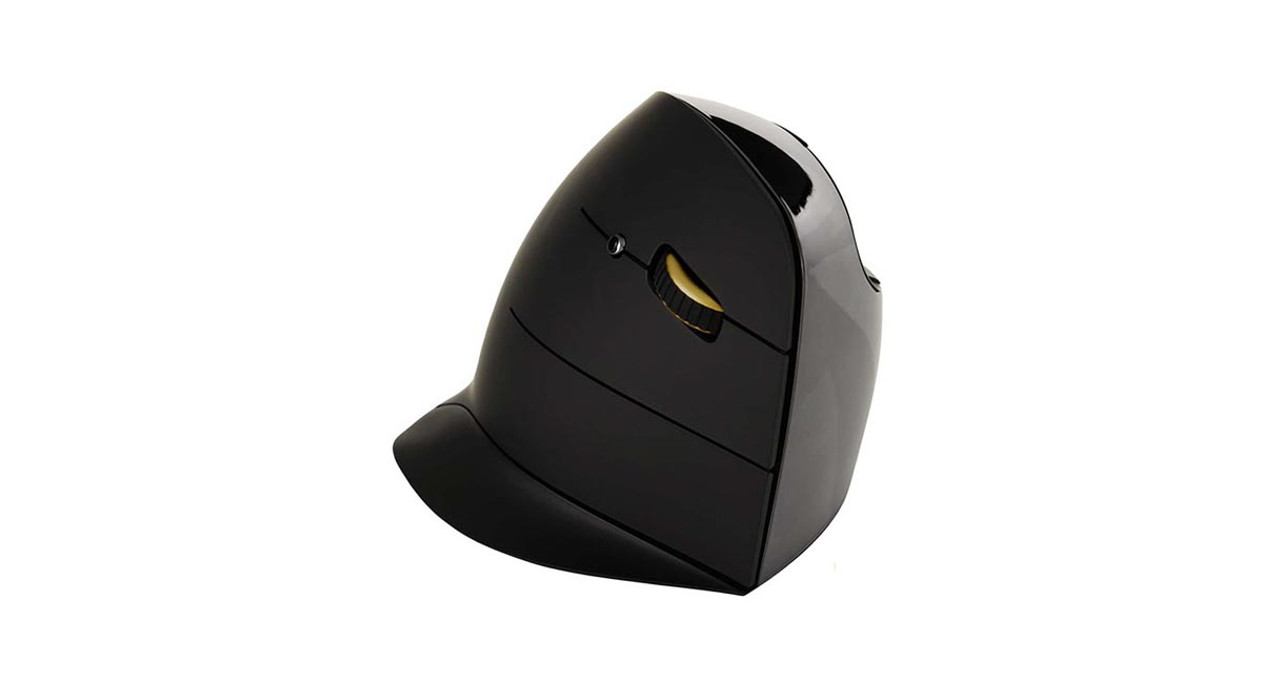22337730a0f The Evoluent Vertical Mouse C: Right Hand Wireless Mouse's unique design  features a larger lower