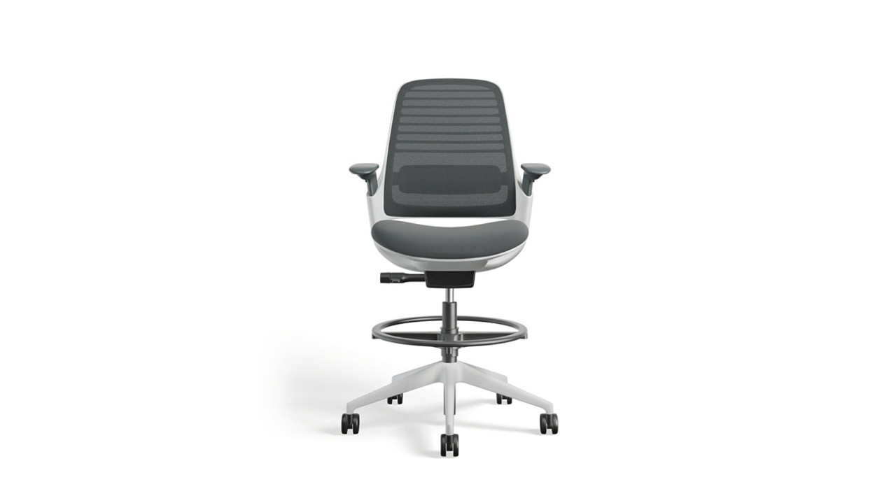Wondrous Steelcase Series 1 Drafting Stool Alphanode Cool Chair Designs And Ideas Alphanodeonline