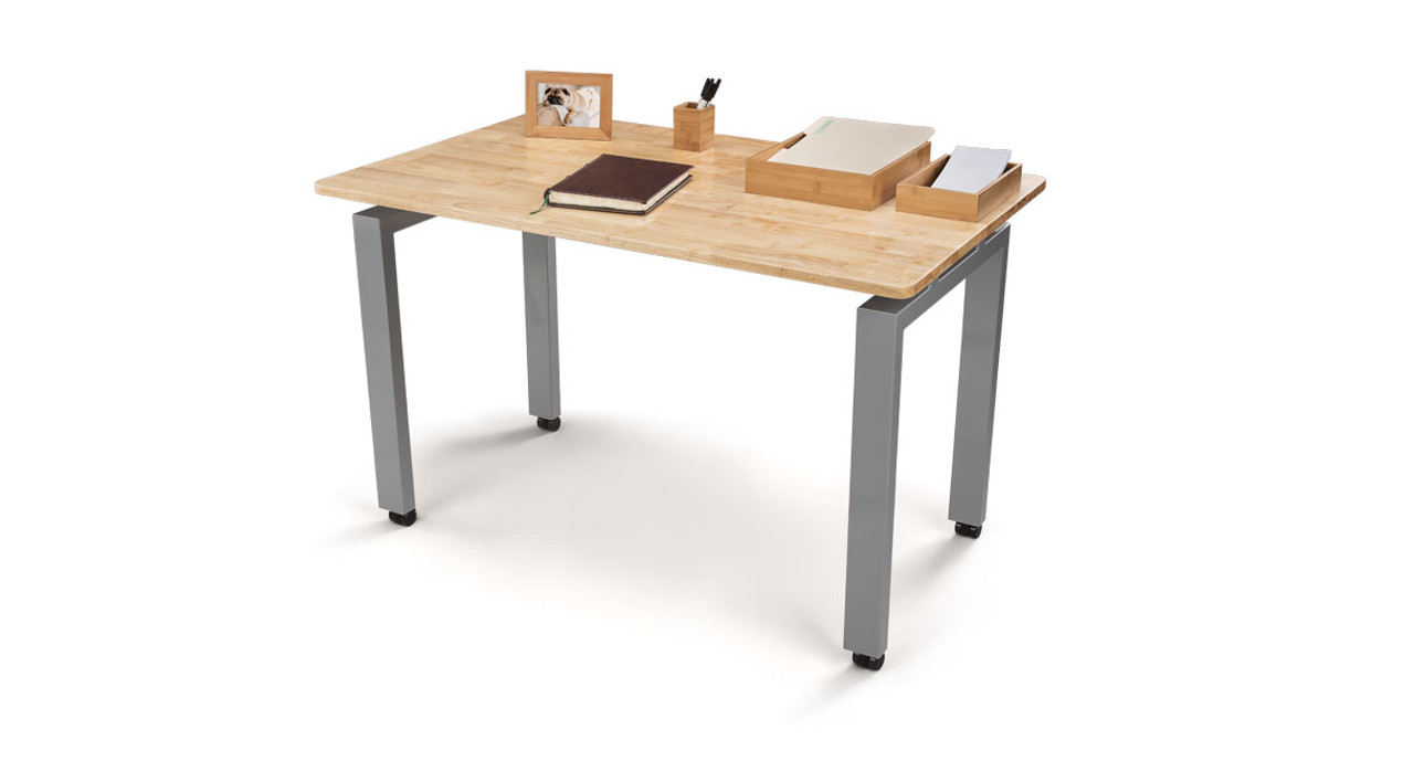 UPLIFT Desku0027s 4 Leg Fixed Seated Height Side Table Adds Extra Table Space  To Your