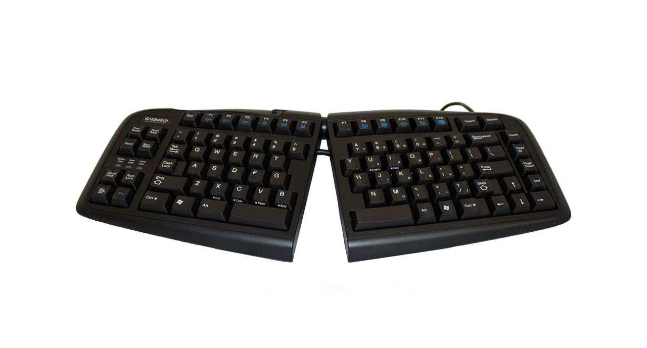 7162ab29f93 The Goldtouch V2 Adjustable Ergonomic Keyboard's Smart Fit Adjustability  design enhances keyboard use for customizable adjustment