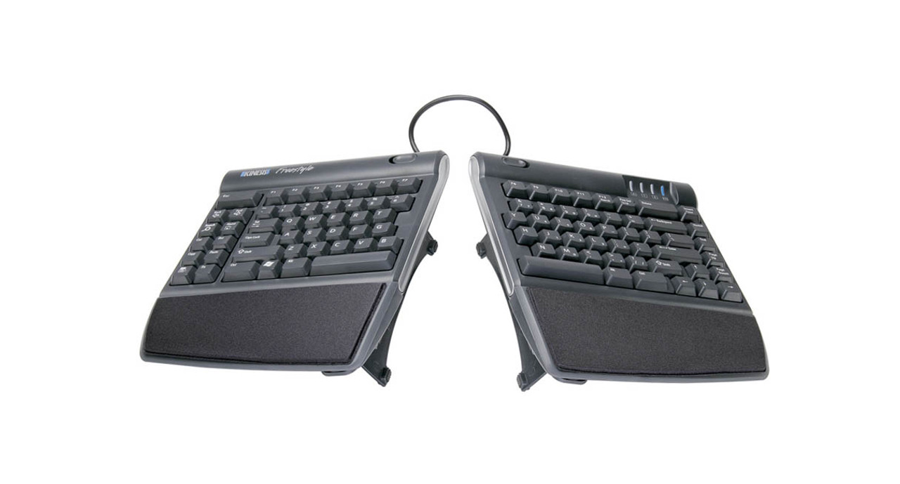 23613ebd8a0 Alter the slope of your Freestyle2 keyboard to position your wrists and  forearms comfortably