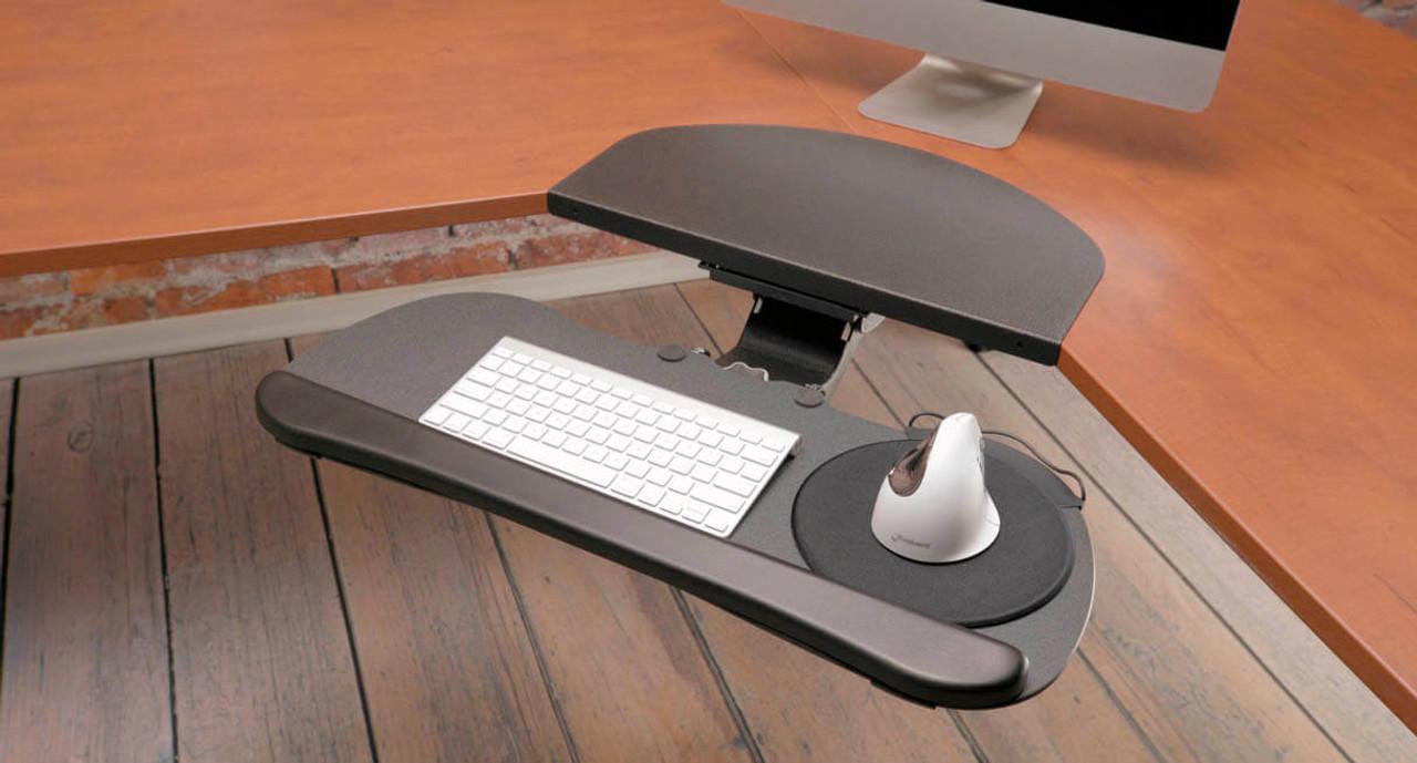 Beau Works With Both Ergonomic UPLIFT Keyboard Tray Models