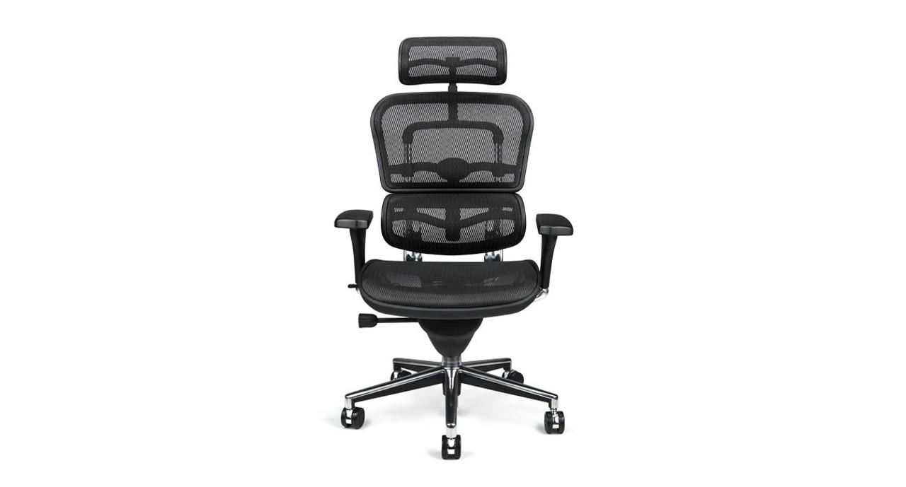 Raynor Ergohuman Chair Me7erg Mesh With Headrest