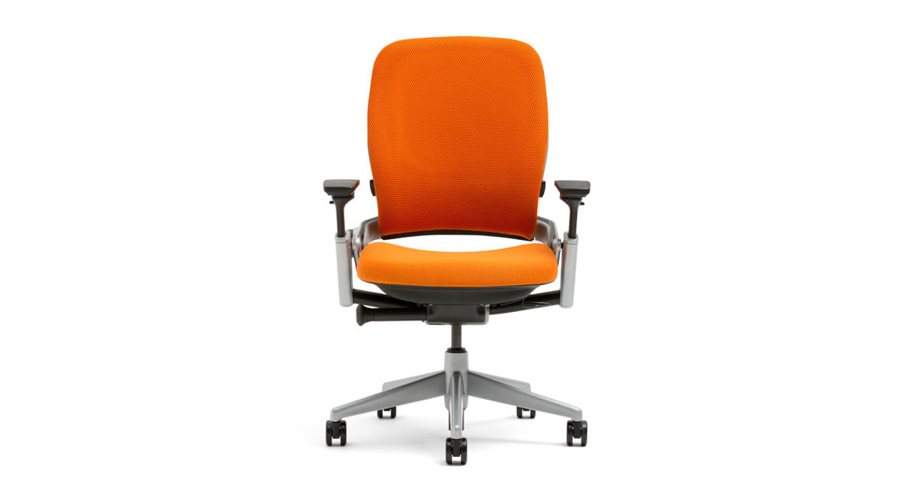 When you want advanced spinal support the leap is here to back you up the steelcase leap ergonomic office chair