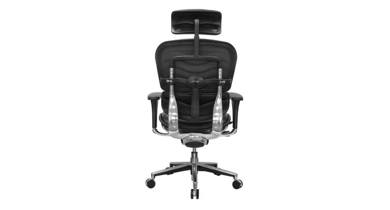 Wondrous Raynor Ergohuman Leather Chair With Headrest Le9Erg Ibusinesslaw Wood Chair Design Ideas Ibusinesslaworg