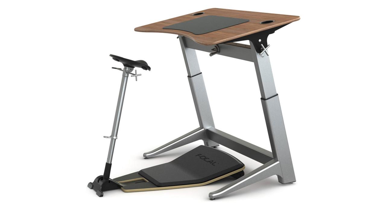 Focal Locus Workstation Standing Desk With Seat Shop Focal