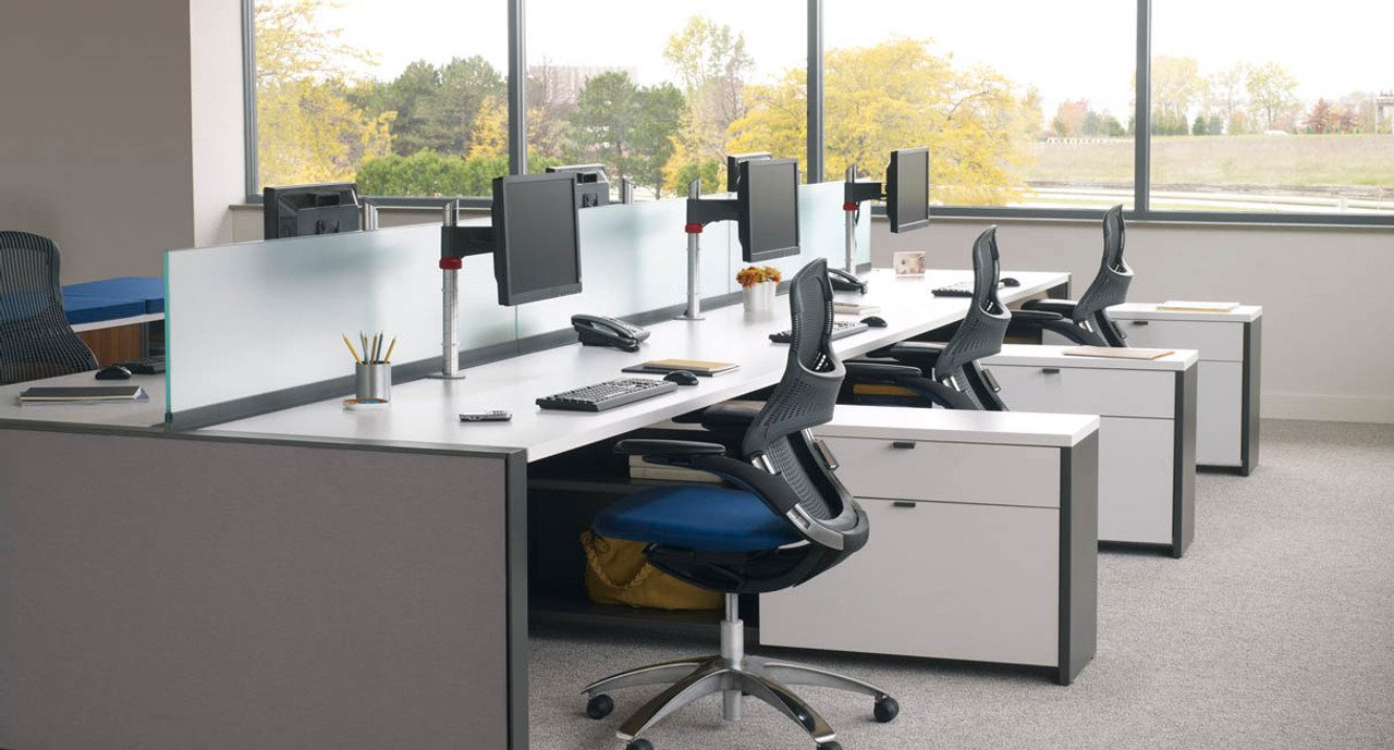 Improve your workstations ergonomics with the knoll sapper monitor arm