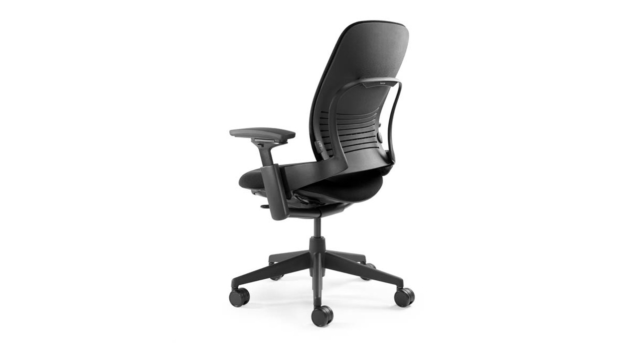Intuitive dial on the left side of the chair allows you to adjust upper back force  sc 1 st  The Human Solution & Steelcase Leap Chair - Open Box Clearance