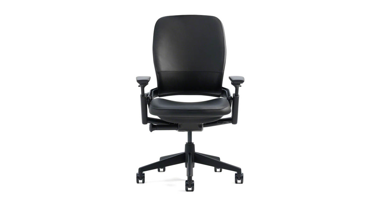 Steelcase Leap Chair In Leather Shop Steelcase Leap Chairs