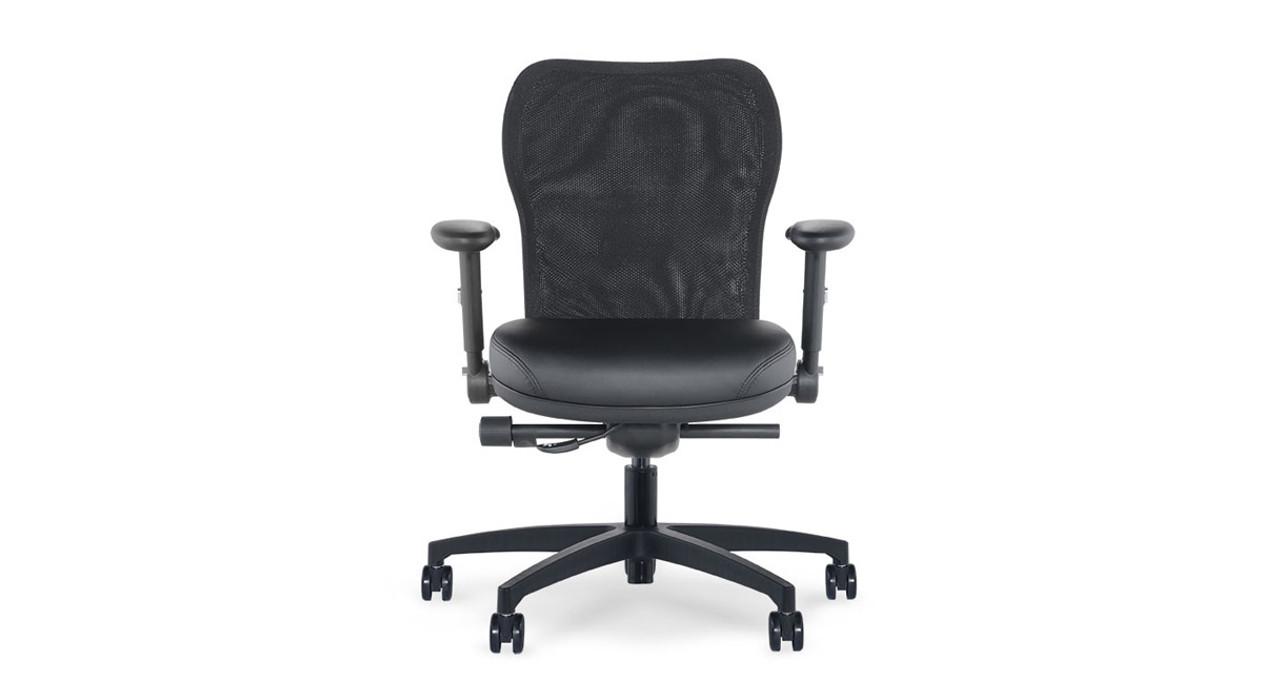 voss mesh back task chair rh thehumansolution com