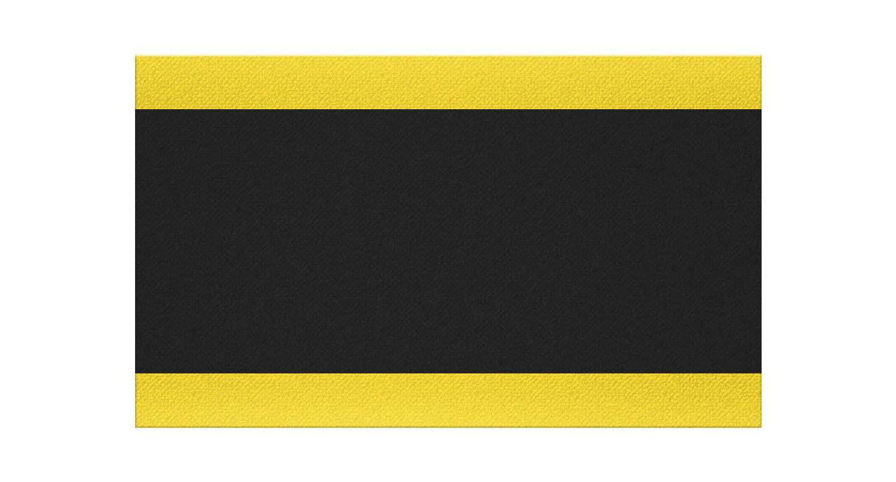 Notrax 415 Pebble Step Sof-Tred W//Dyna-Shield Anti-fatigue Safety Mat for Home or Business 3 X 4 Black//Yellow