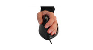 Optical tracking allows for low maintenance and high accuracy on the Airobic Quill Mouse