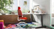 Choose from a collection of vibrant Steelcase upholstery options to match your space