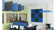 Wall panels can additionally improve the look and feel of your office space