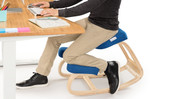 Change up your sitting style throughout the day. Movement leads to greater comfort.