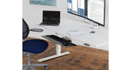 Humanscale M/Connect 2 Docking Station creates an ergonomic workspace
