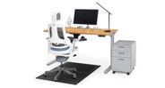 Move your chair smoothly and protect your floor from scruffs and scratches with the chair mat