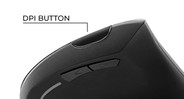 Quickly adjust sensitivity with the DPI button from 800 to 1600