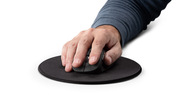 The Whisper Click Mouse is perfect for right-handed users
