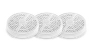 Pack of 3: Desktop Air Purifier Replacement Filters