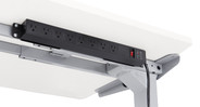 Designed to attach directly to the bottom of any desktop OR it can fasten to our UPLIFT V2 patented frame mounting points