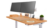 "Fits desks 24"" or deeper"