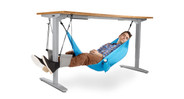 Consider combining the Foot Hammock with the Under Desk Hammock for added comfort and support