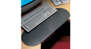 Racetrack shaped sleeve slides over any work surface 1.25'' to 2.5'' thick