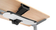 Mount your keyboard tray using the Track Spacer