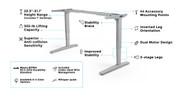UPLIFT V2 Standing Desk Frame