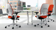 Choose the color that adds a vibrant touch of decor to your office space or conference room