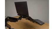 Our UPLIFT View Laptop Mount is easy to insert and remove your notebook for fast adjustments