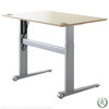 Conset 501-17 Laminate Electric Sit-Stand Desk (Discontinued)