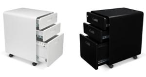 Rollin' Rollin' Rollin' 3-Drawer File Cabinet, Rolling!