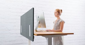 Building a Fortress of Solitude: The Acoustic Privacy Panel by UPLIFT Desk