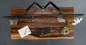 Get Solid Wood Sooner with Quick Ship Solid Wood Desks by UPLIFT Desk