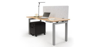 4-Leg Side Tables Add Storage Space to Your Work Area