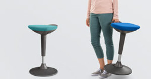 The Starling Stool by UPLIFT Desk: Perfect Perching on Your Level