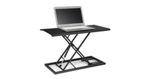 Bigger Isn't Always Better: E3 Compact Stand Up Desk Converter
