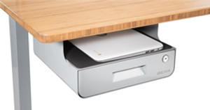 Impress With No Mess. Storage Options from UPLIFT Desk!