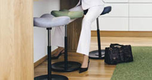 The Varier Move Stool: A Dynamic Solution for a Standing Desk