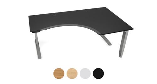 Curved Corner Desk Work Desk For Home