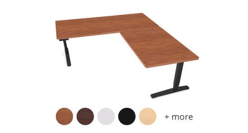 UPLIFT V2 L Shaped Special Order Laminate Height Adjustable Desk