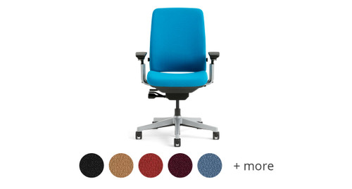 Upholster your chair in one of the many vibrant fabric options from Steelcase  sc 1 st  The Human Solution & Petite Office Chairs | Shop Petite Ergonomic Chairs
